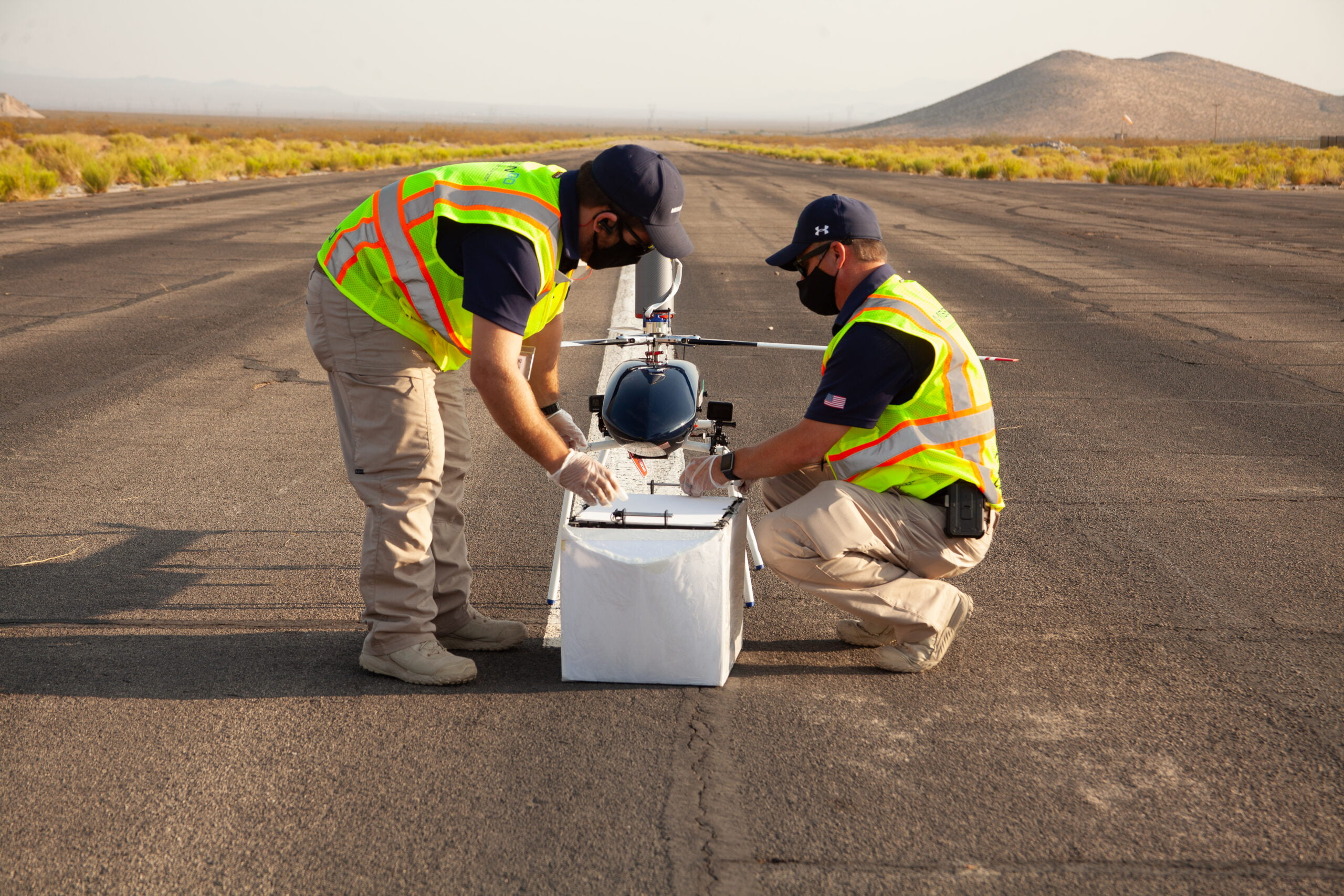 MissionGO unmanned systems nevada flight