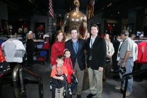 Scott and Kevin Plank and Family