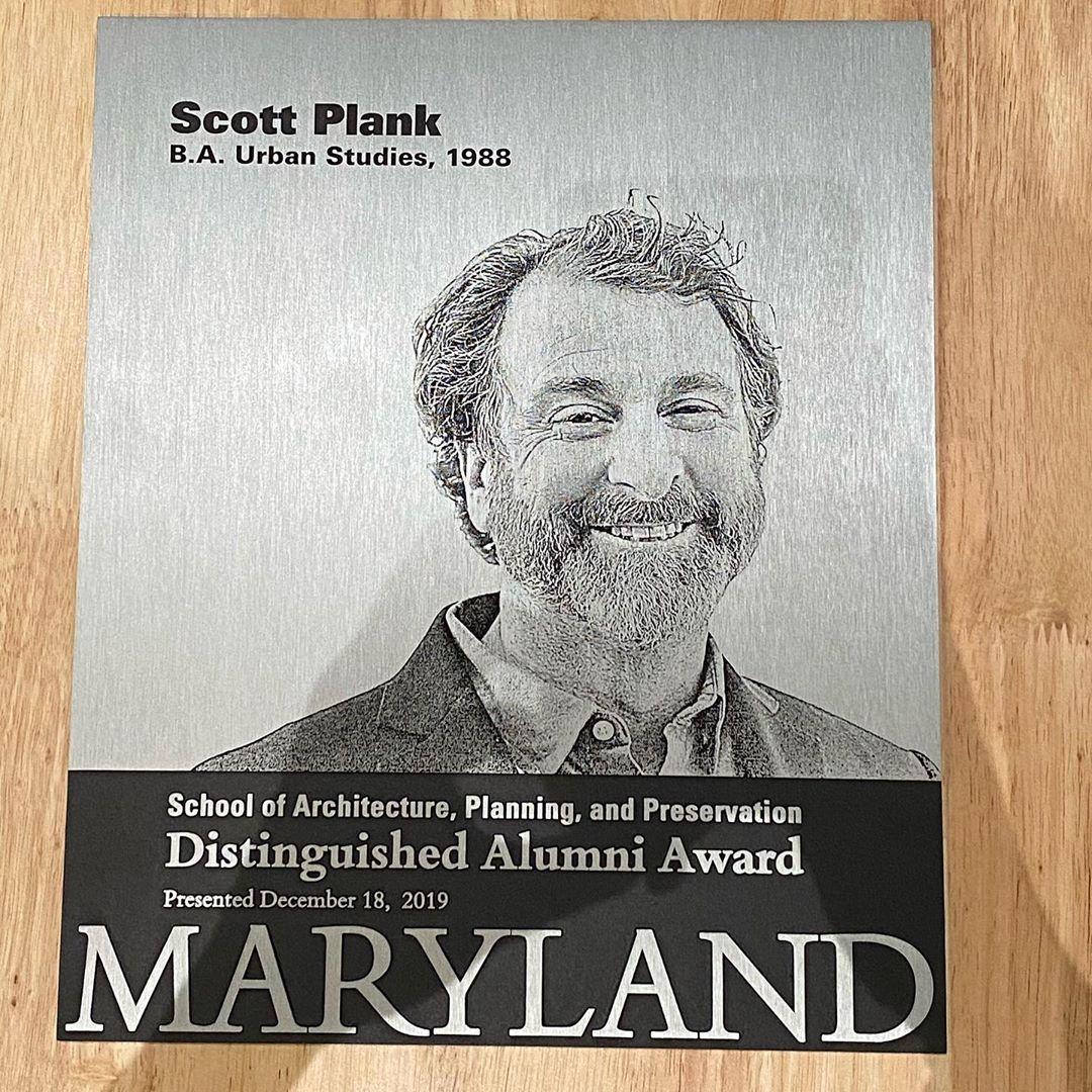 Scott Plank Distinguised Alumni