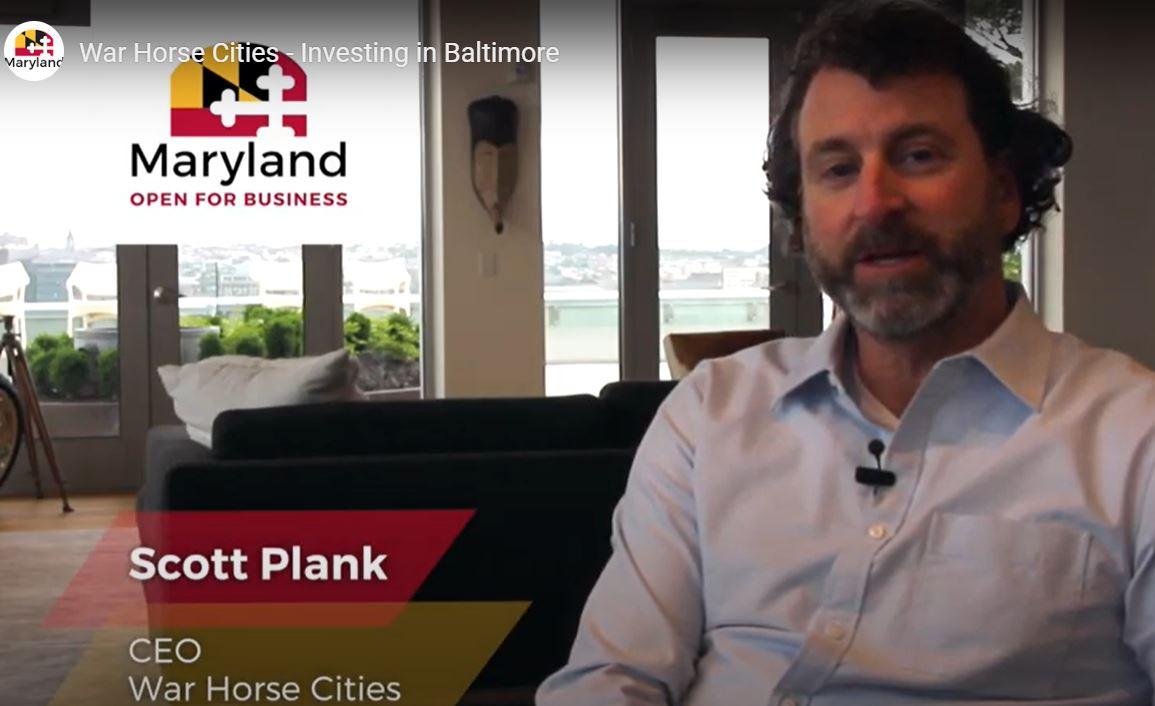 Scott Plank Video Maryland.gov Investing In Baltimore