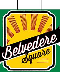 Logo for Belvedere Square Market.