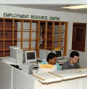 Employment resource center for cornerstones