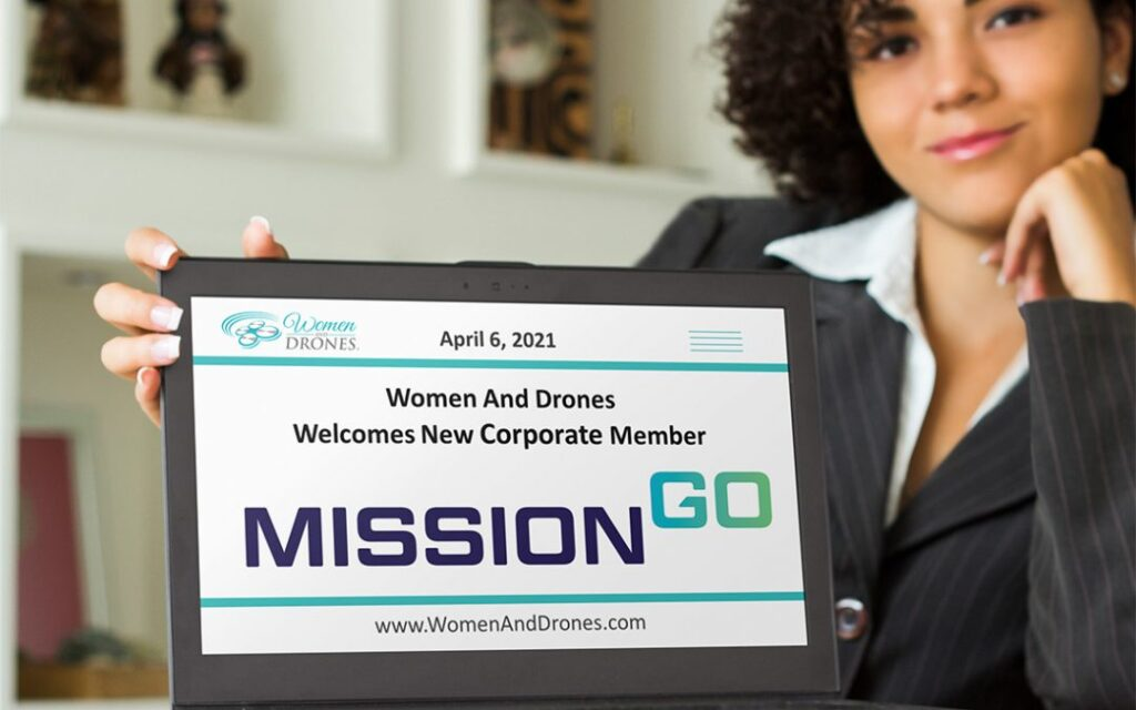 Women and Drones welcomes MissionGO as new corporate member