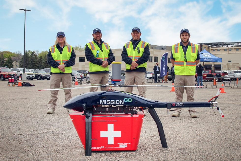 missiongo operations team with unmanned aircraft system